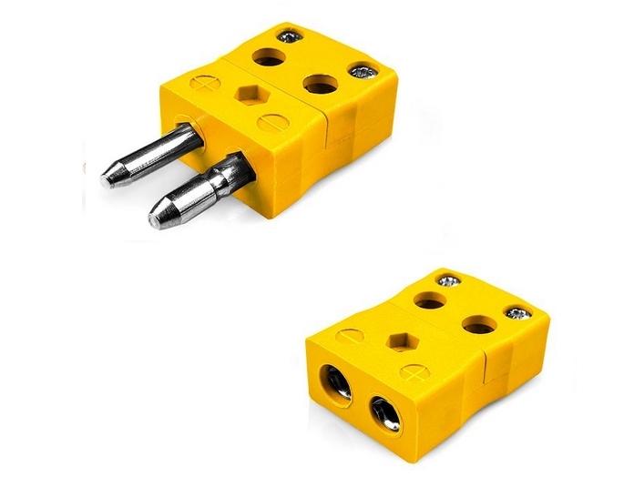 Standard Quick Wire Thermocouple Plug & Socket ANSI
