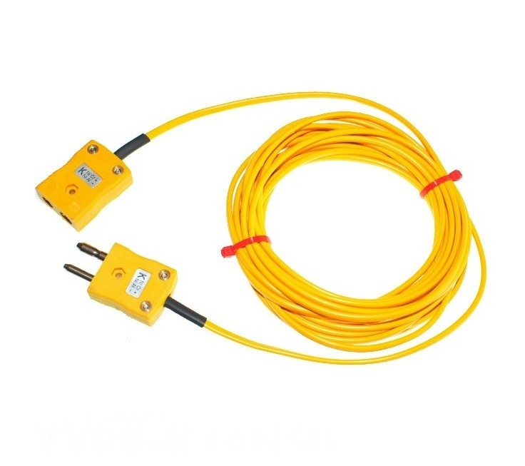 Extension Leads with Thermocouple Plugs & Sockets ANSI