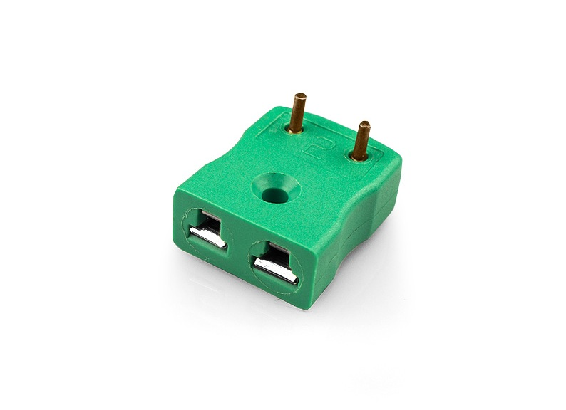 PCB Mounting Thermocouple Connector Sockets with Brass Pins