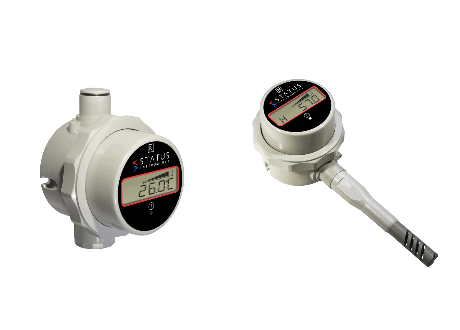 Temperature, Humidity, Pressure & mA/Voltage Gauges with Displays