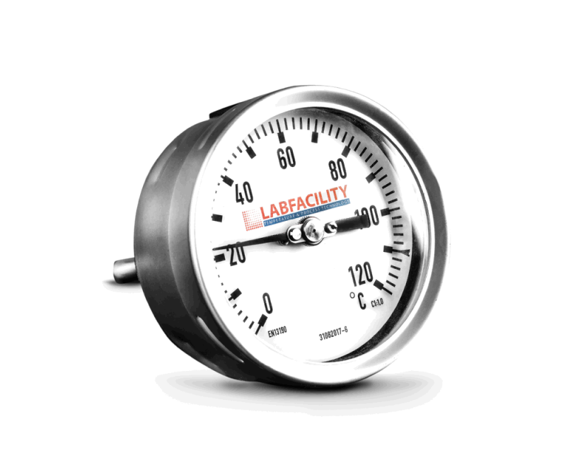 Bi-Metal Temperature Gauges - Back Entry Style