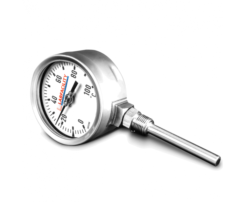 Bi-Metal Temperature Gauges - Bottom Entry Style