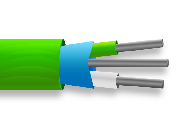 PVC Mylar Screened Thermocouple Cable / Wire IEC