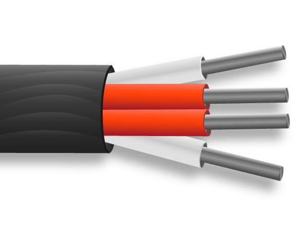 PTFE Insulated PRT Sensor Cable / Wire