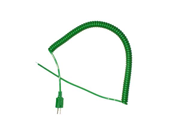 IEC Retractable Curly Leads