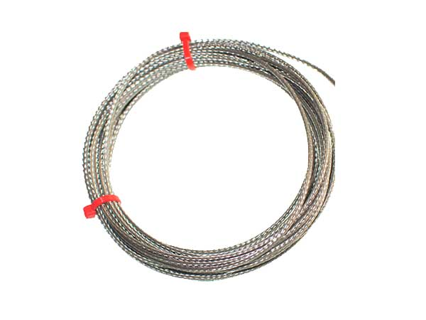 Glassfibre Insulated Cable / Wire with Thermocouple Plugs & Sockets IEC