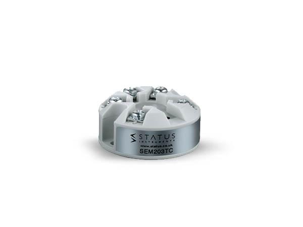 SEM203/TC Push Button Temperature Transmitter