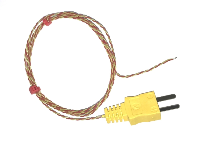 Thermocouples with Moulded-on Plugs ANSI