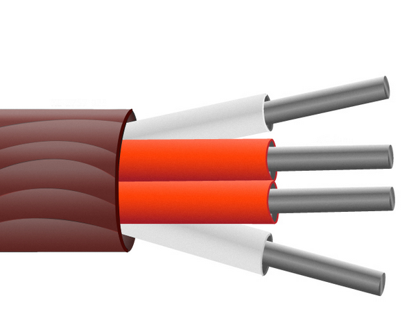 Silicone Rubber Insulated PRT Sensor Cable / Wire