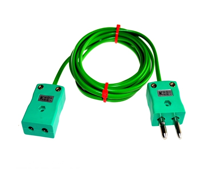 Extension Leads with Thermocouple Plugs & Sockets IEC