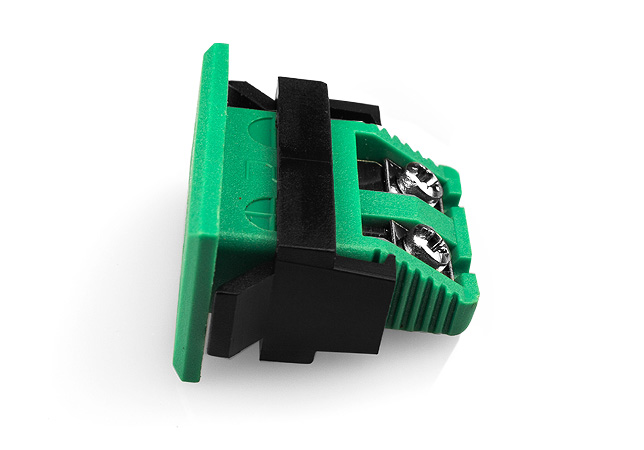 Miniature Rectangular Fascia Socket IEC