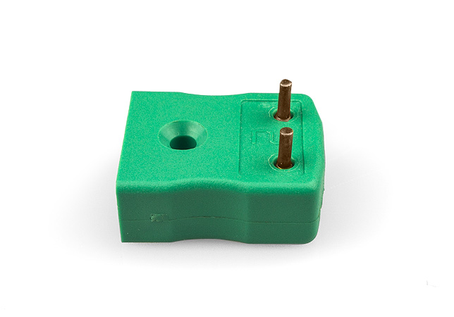 PCB Mounting Thermocouple Socket IEC with Brass or Tin Plated Pins