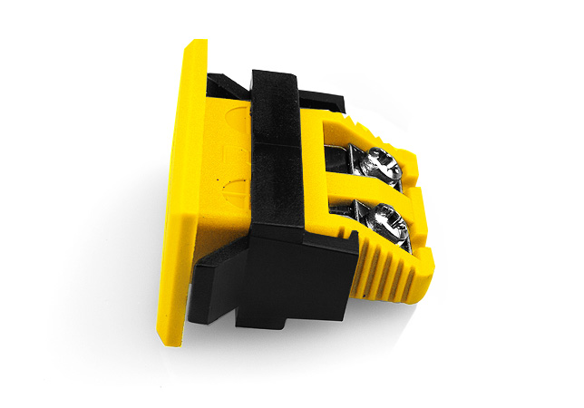Miniature Rectangular Fascia Socket ANSI