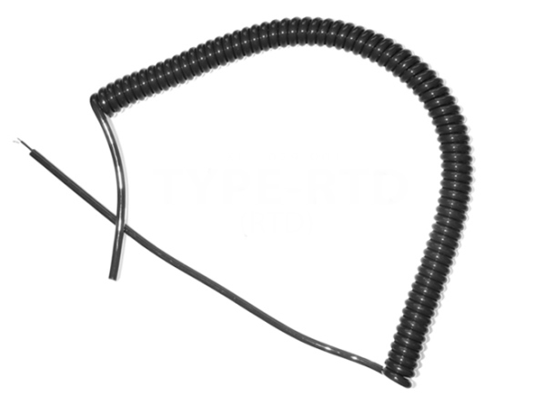PRT Retractable Curly Lead