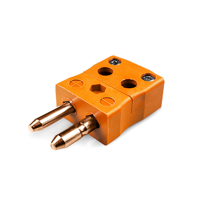 Standard Quick Wire Thermocouple Connector Plug IS-R/S-MQ Type R/S IEC