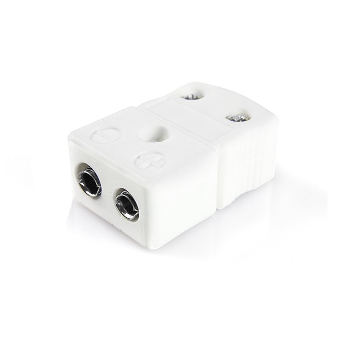 Standard High-Temperature (650°C) Ceramic Thermocouple Socket IS-T-F-HTC Type T IEC