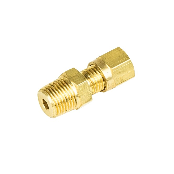 Brass Compression Fittings - Tapered Thread (BSPT)