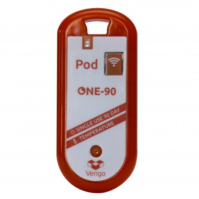 Verigo Model PD0 Single use 90 Day Temperature Data Logger