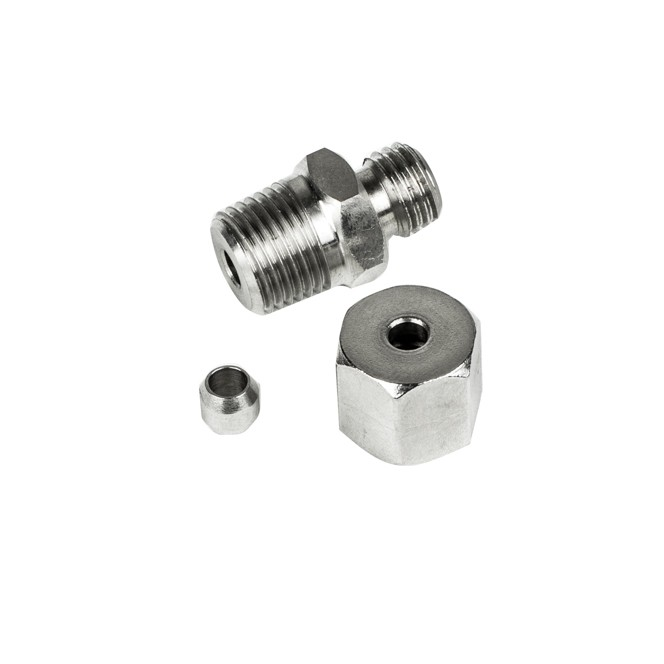 Stainless steel compression fittings metric thread m