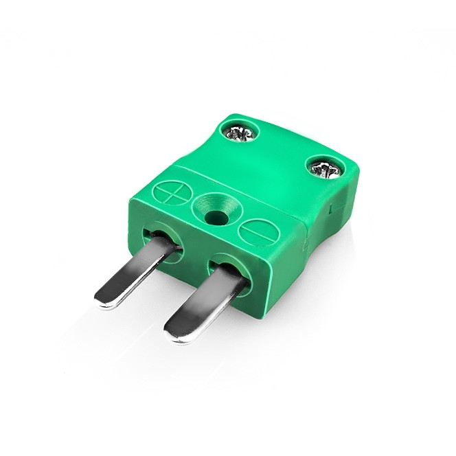 Miniature Thermocouple Connector Plug IM-K-M Type K IEC
