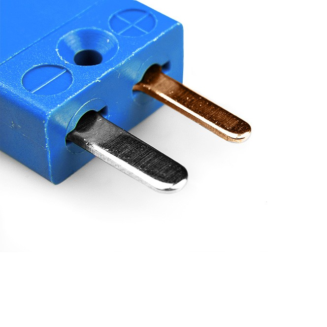 Miniature Thermocouple Connector Plug Type T Ansi