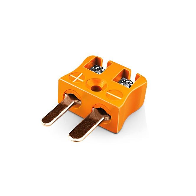 Miniature Quick Wire Connector Thermocouple Plug IM-R/S-MQ Type R/S IEC