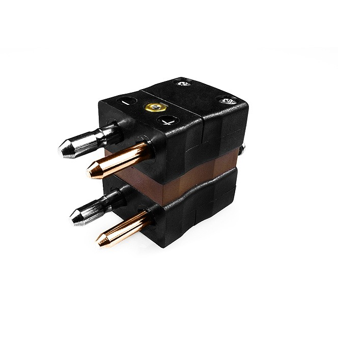 Standard Thermocouple Connector Duplex Plug IS-T-MD Type T IEC