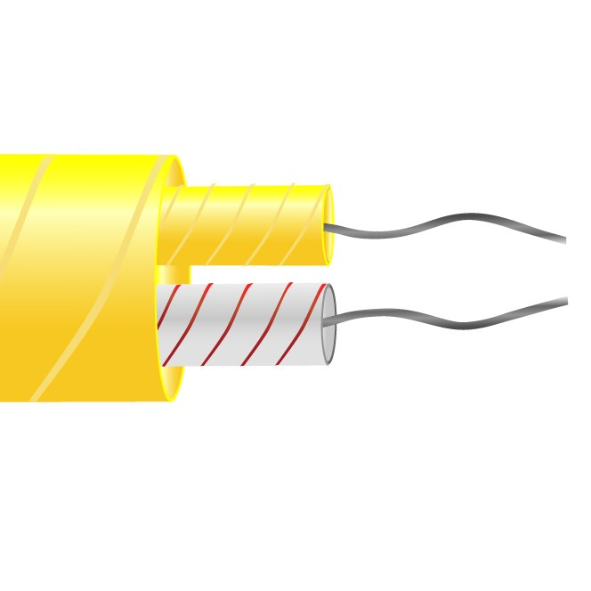 Type K Glassfibre Insulated Flat Pair Cable / Wire (ANSI)