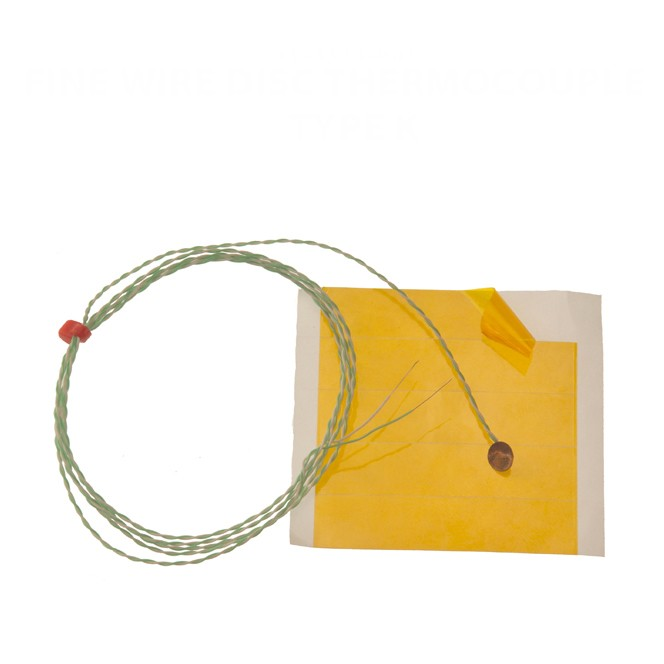 Fine Wire Disc Thermocouple IEC - Type K