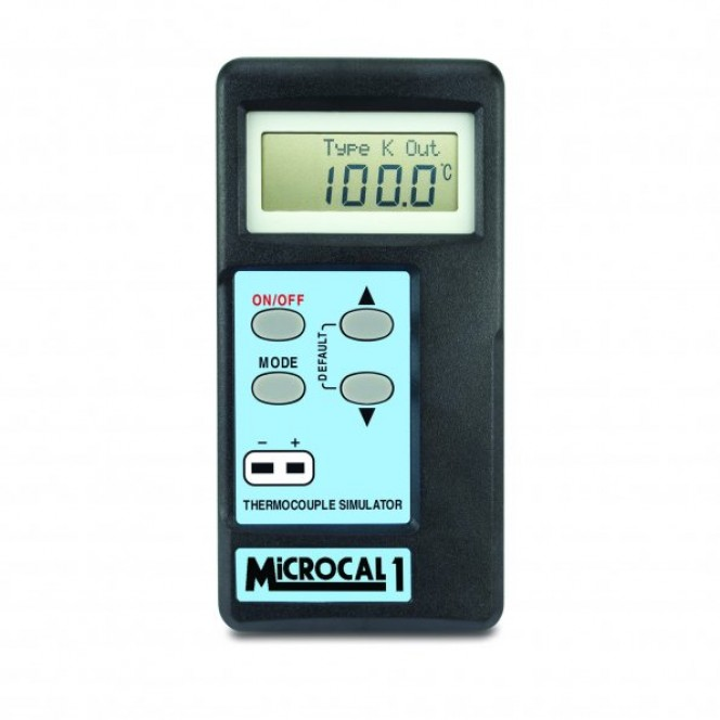 MicroCal 1 Plus Simulator Thermometer (Types K, J, T, R, N, S, E)
