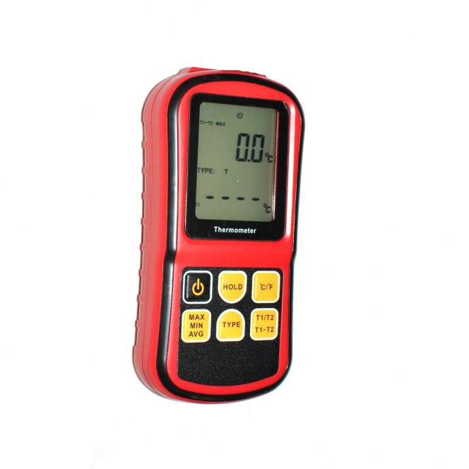 GM1312 General Purpose Digital Thermometer (K,J,T,E,N,R/S)