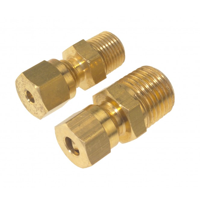 Brass compression fittings parallel thread