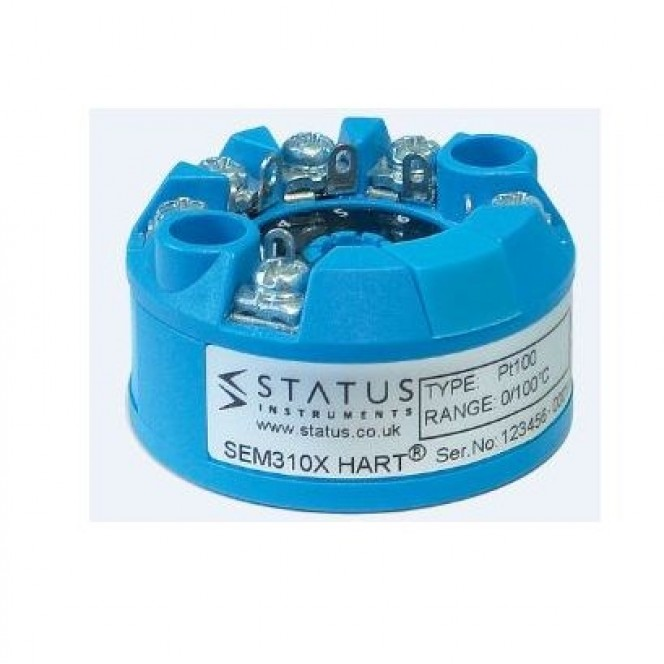 Status SEM310X MKII - ATEX, IECEx Dual Channel Universal Temperature Transmitter With HART Protocol