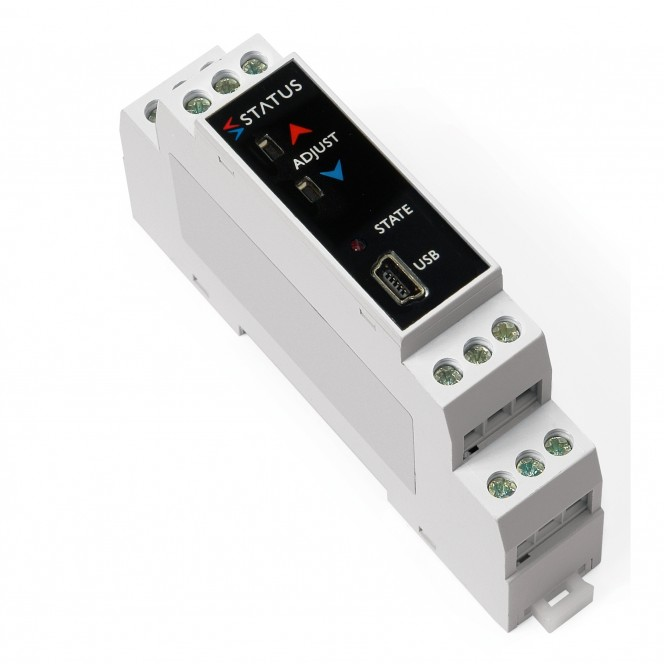 Status SEM1605/P - Pt100 Temperature Transmitter PC Programmable With Push Button Calibration