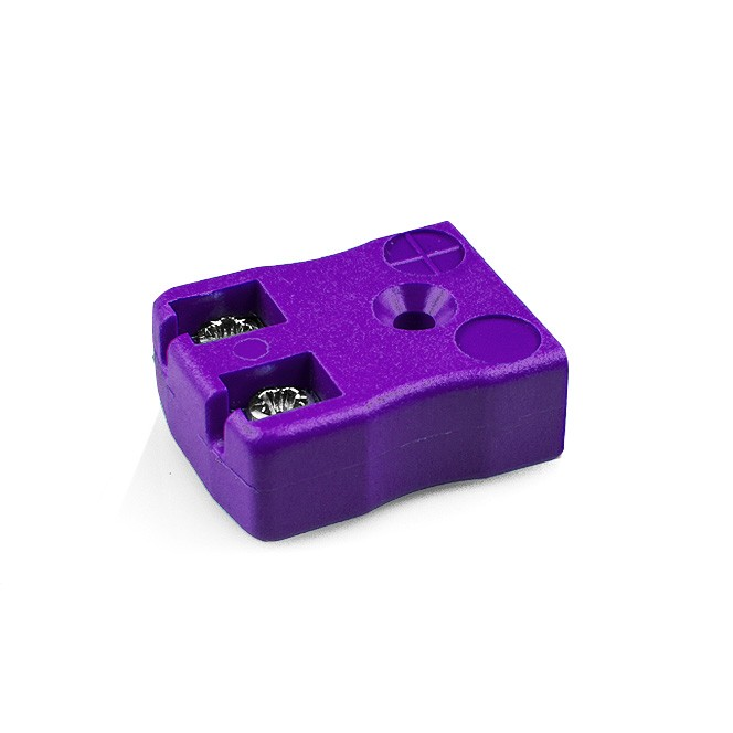 Miniature Quick Wire Thermocouple Connector Socket JM-E-FQ Type E JIS