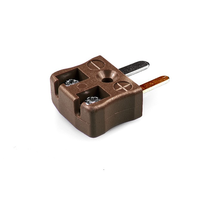 Miniature Quick Wire Thermocouple Connector Plug JM-T-MQ Type T JIS