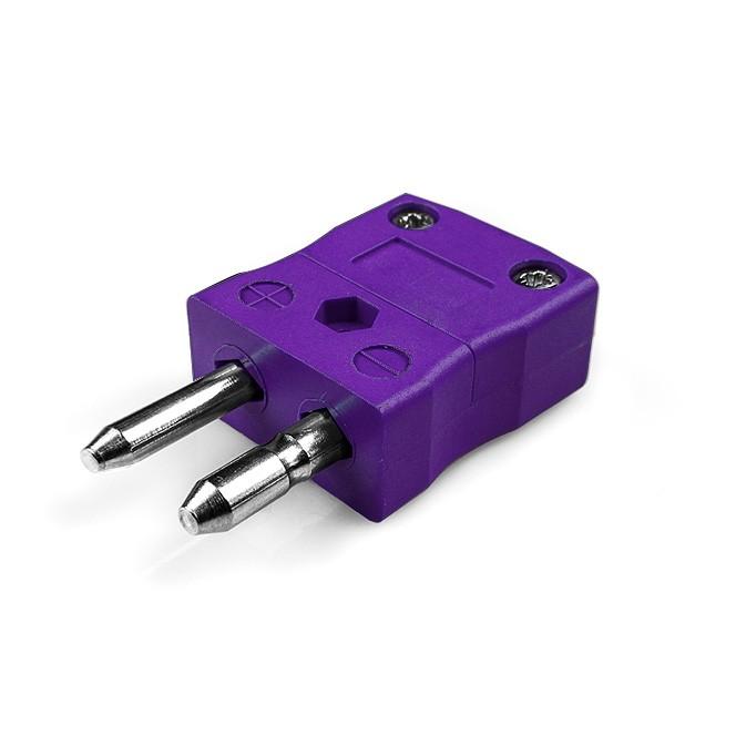 Standard Thermocouple Connector Plug JS-E-M Type E JIS