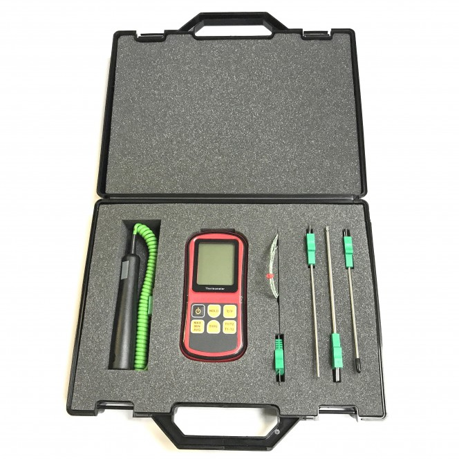 General Purpose Type K Thermocouple Kit with choice of probes