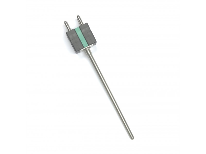 IEC Mineral Insulated Dual Thermocouple with Standard Duplex Type K Thermocouple Plug