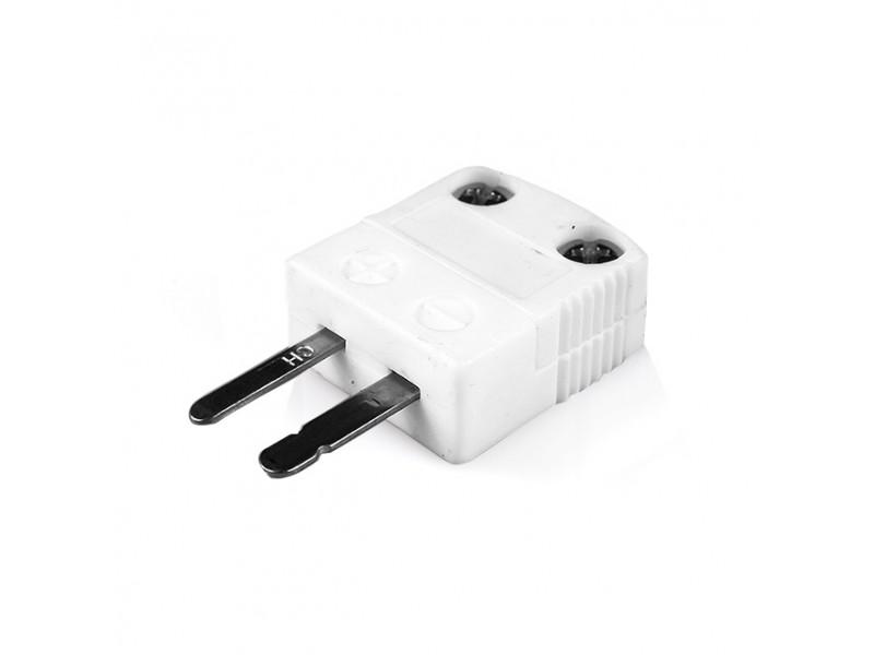Miniature High-Temperature (650°C) Ceramic Thermocouple Plug AM-E-M-HTC Type E ANSI