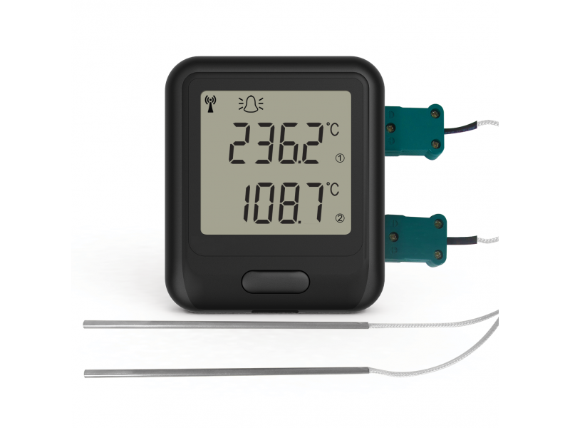 EL-WiFi-DTC Wifi Dual Channel Thermocouple Probe Data Logging Sensor
