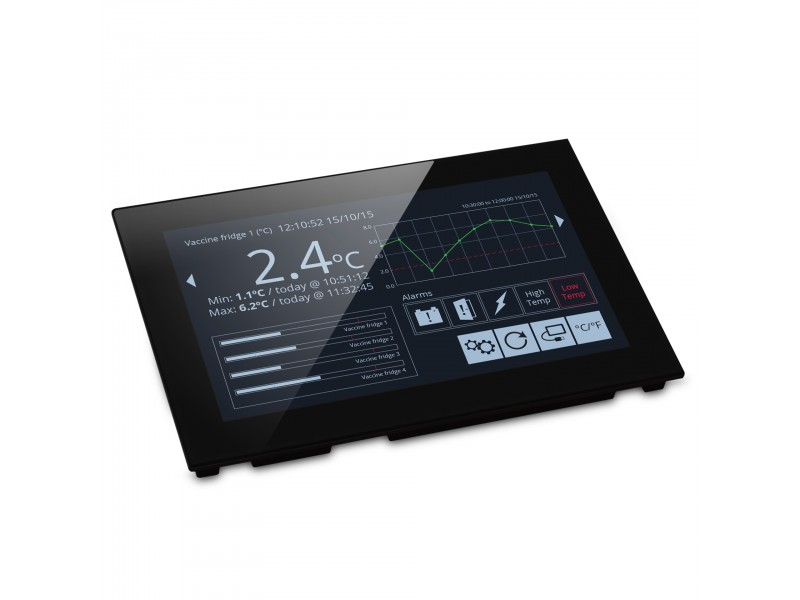 "Lascar PanelPilot SGD 70-A - 7"" Display with Analogue, Digital, PWM, and Serial Interfaces"