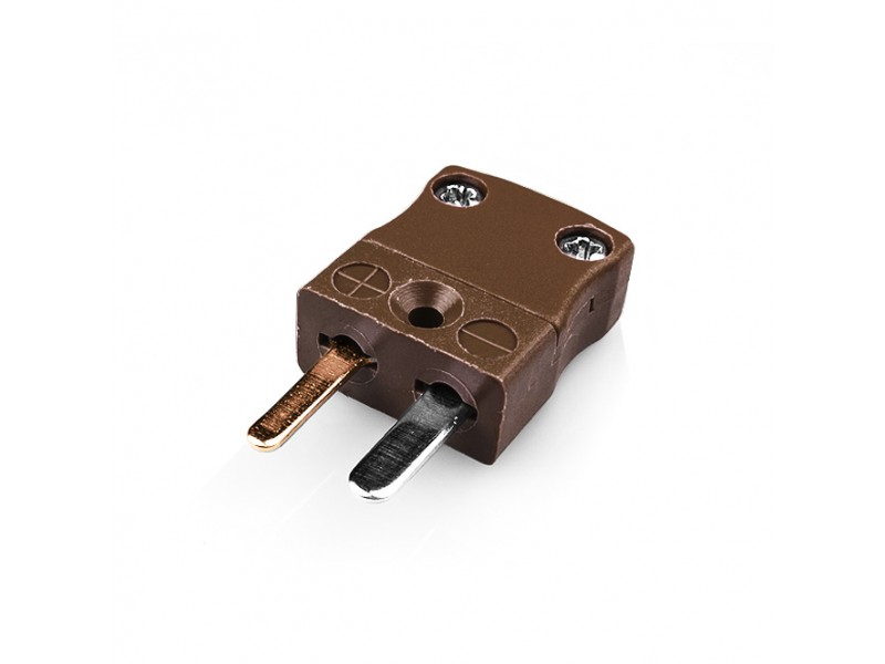 Miniature Thermocouple Connector Plug IM-T-M Type T IEC