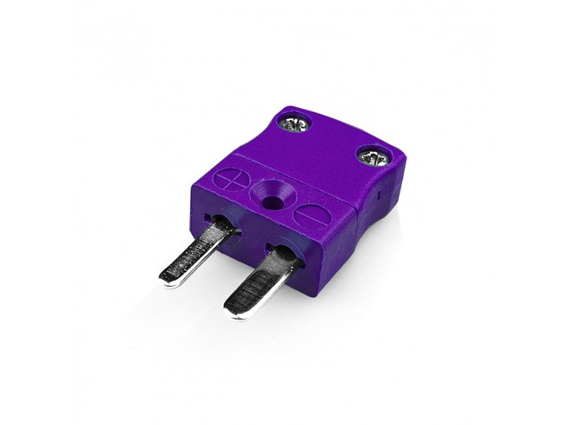 Miniature Thermocouple Connector Plug IM-E-M Type E IEC