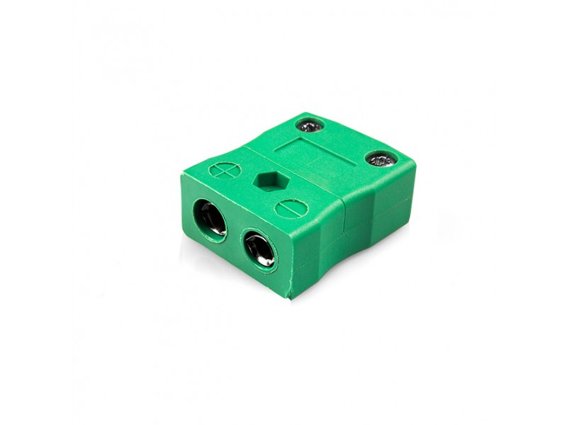 Standard Thermocouple Connector In-Line Socket IS-K-F Type K IEC