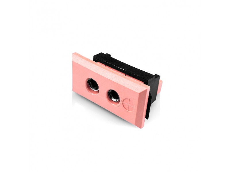 Standard Rectangular Thermocouple Connector Fascia Socket IS-N-FF Type N IEC