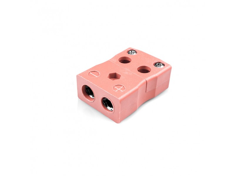 Standard Quick Wire Thermocouple Connector Socket IS-N-FQ Type N IEC