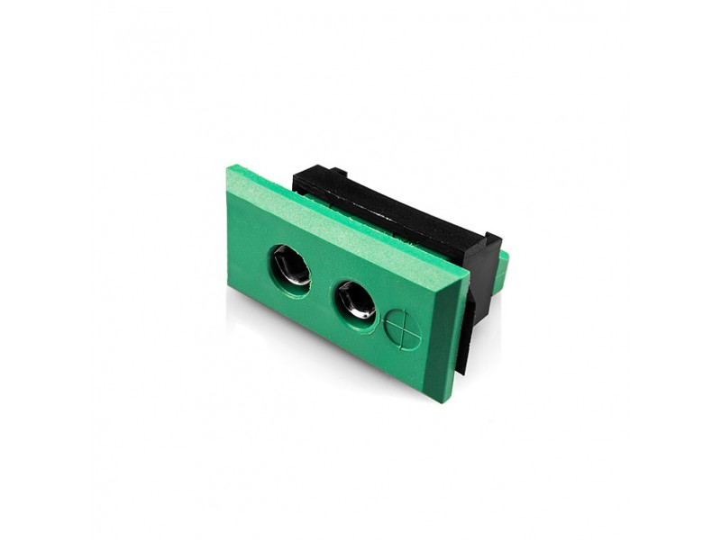 Standard Rectangular Fascia Thermocouple Connector Socket AS-R/S-FF Type R/S ANSI
