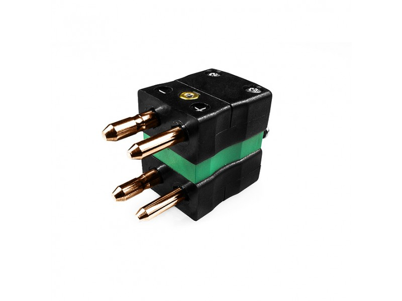 Standard Thermocouple Connector Duplex Plug AS-R/S-MD Type R/S ANSI