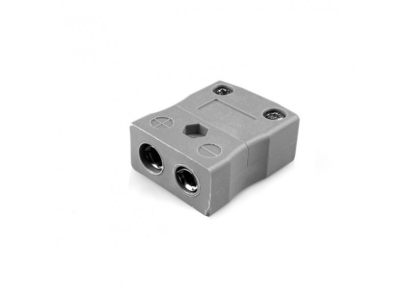 Standard Thermocouple Connector In-Line Socket IS-B-F Type B IEC